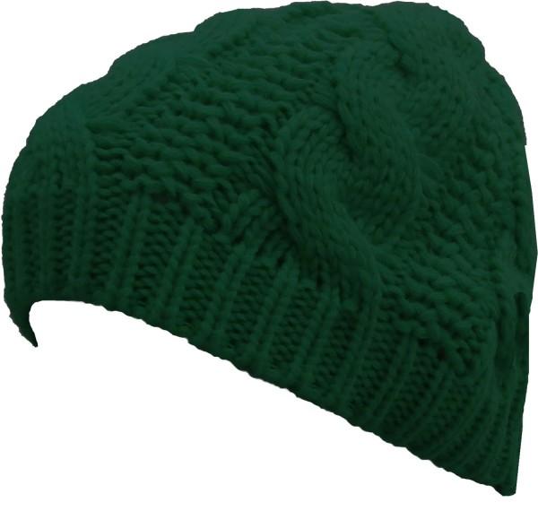 Knitted hat Wool Winter Women Uni