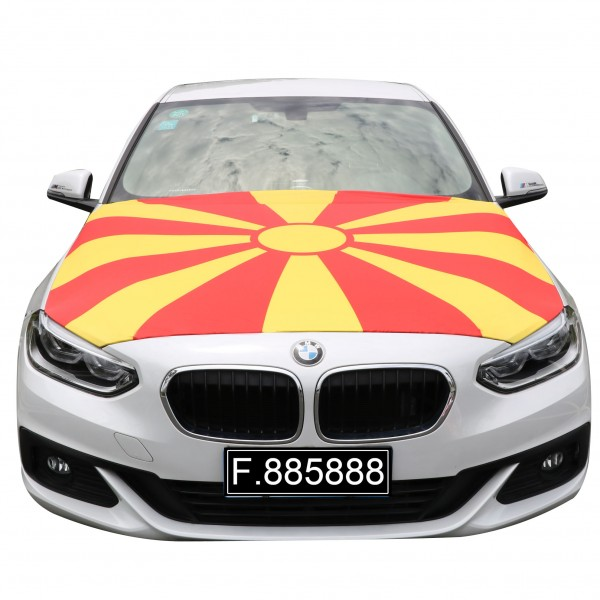 """Car """"Cowling Overcoat"""" Football Worldcup Country Fan Flag"""