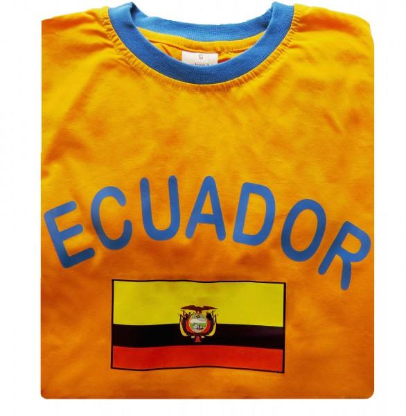 """Fan-Shirt """"Ecuador"""" Unisex Football Worldcup T-Shirt Men"""