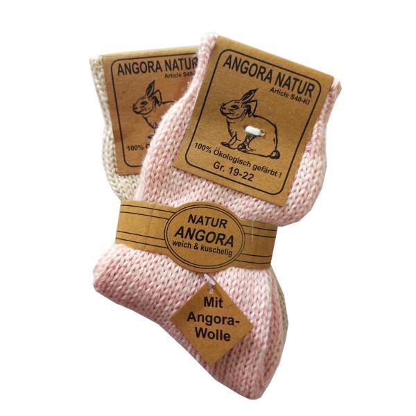 2 Pairs Kids Angora Socks Ecological Wool Warm