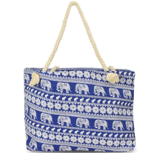 """Strandtasche """"Elefant"""" Beachbag Tasche"""
