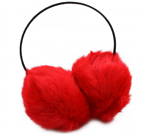 "Assortment: 20 pieces Ear muff ""Soft"" Winter Nackholder Faux Fur"