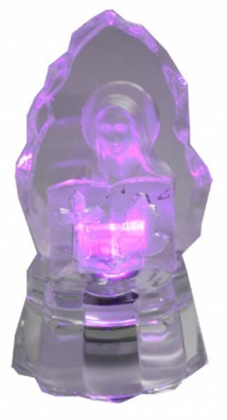 """Glasfigur """"Medium"""" Deko Wohnen LED Christkind Glas Licht Engel"""