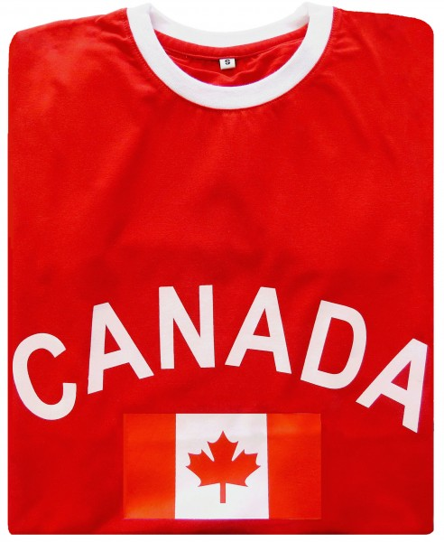 "Fan-Shirt ""Canada"" Unisex Football Worldcup T-Shirt Men"