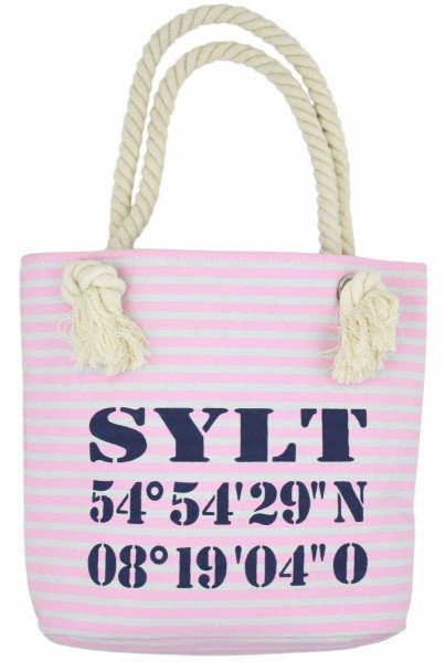 "XS Shopper ""Sylt"" Shopper Tasche Koordinaten"