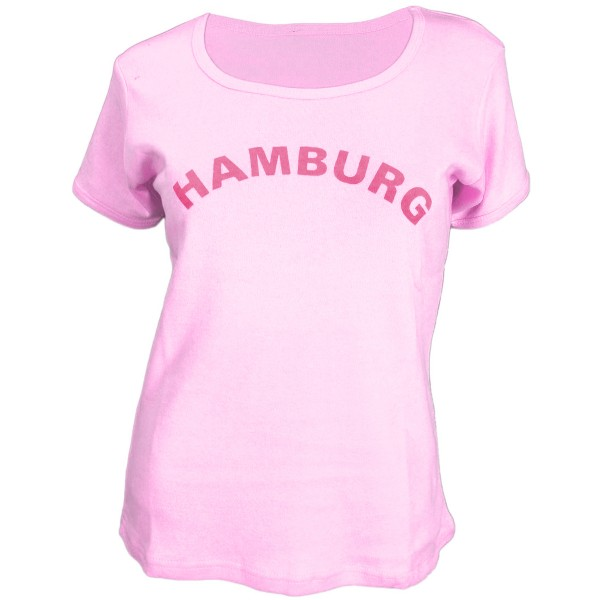 "Damen T-Shirt ""Hamburg"" Teens Baumwolle"