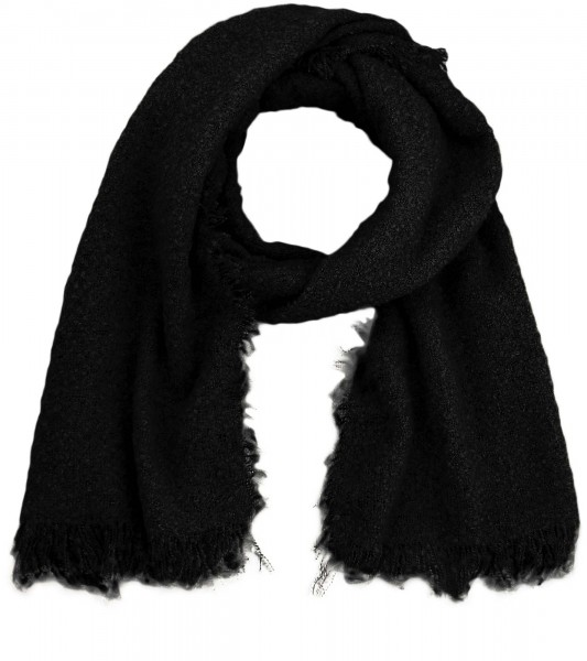 Scarf Polyacrylic Winter Fringes Blogger Soft