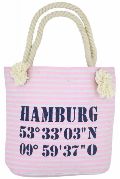 "XS Shopper ""Hamburg"" Shopper Tasche Koordinaten"
