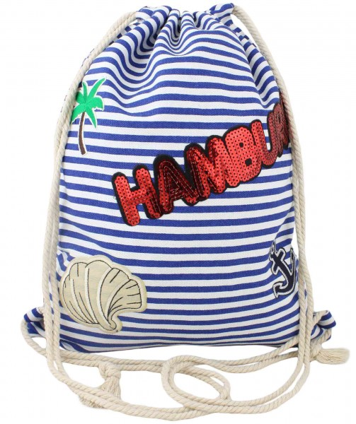 "Patch Backpack ""Hamburg"" Bag Patches"