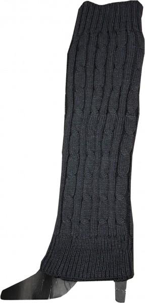 1 Pair Cuff Legwarmer Uni Color Acrylic Wool Warm Winter