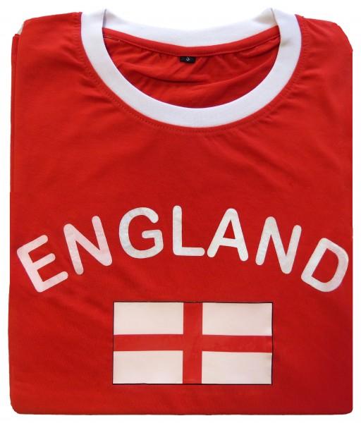"""Fan-Shirt """"England"""" Unisex Football Worldcup T-Shirt Men"""