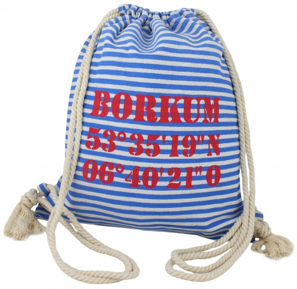 "City Rucksack ""Borkum"" Tasche Bag Backpack Maritim"