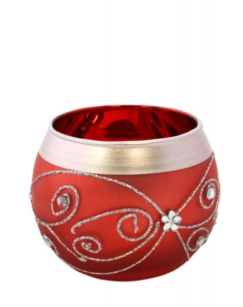 2er Set Kerzenhalter Wohnen Deko Kerze Glas