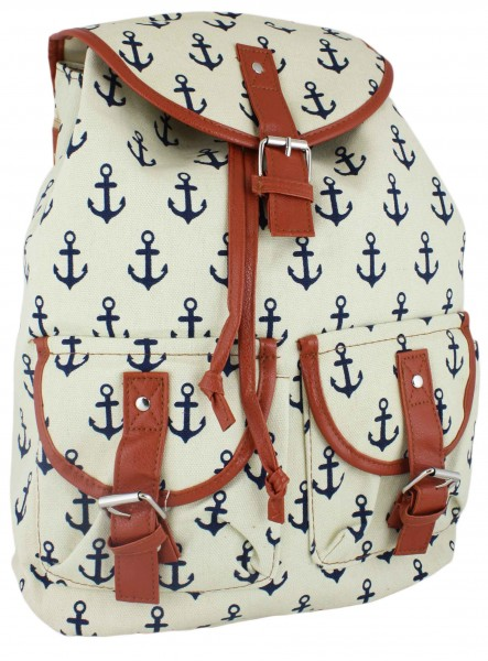 "Backpack Anchor ""Lilly"" Bag Maritime"