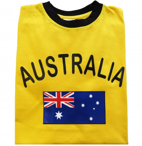 "Fan-Shirt ""Australia"" Unisex Football Worldcup T-Shirt Men"
