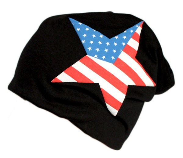 "Beanie Slouch ""USA"" Unisex Star Jersey"