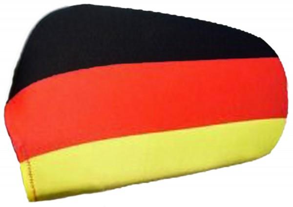 "Auto Außenspiegel Fahne Set ""Deutschland"" Germany Bikini Flagge EM WM"