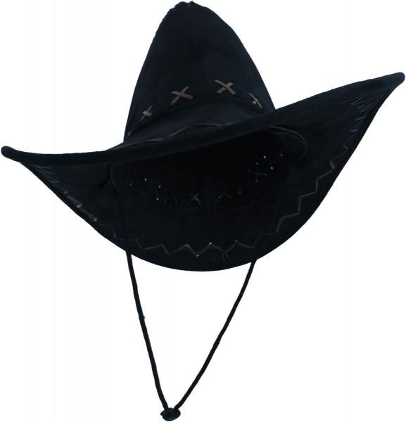 Assortment: 20 pieces Hat Cowboy Wild West Carnival USA