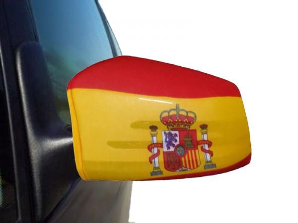 "Auto Außenspiegel Fahne Set ""Spanien"" Spain Espana Bikini Flagge EM WM"