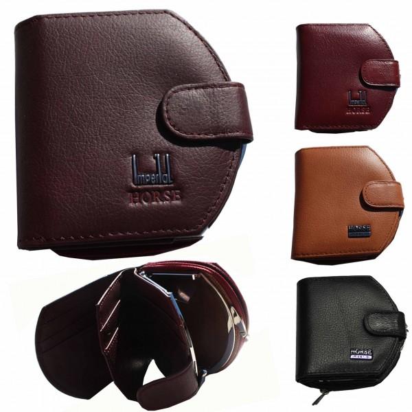 """Assortment: 10 pieces Wallet """"Stil"""" Leather Purse Gents"""