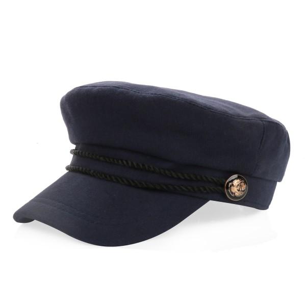 Sailor Cap Women Hat Maritime Cord Cotton