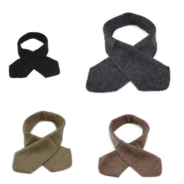 Aktionssortiment: 10 Stück Kinder Winter Schal Zopfstrickmuster Wolle