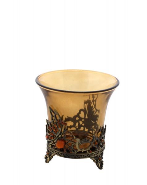"""2 Pieces Tea Candle """"Dämmerung"""" Decoration Present"""