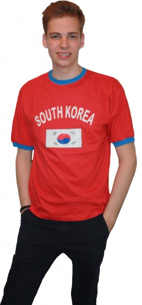 "Fan-Shirt ""South Korea"" Unisex Football Worldcup T-Shirt Men"