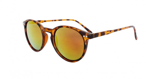 Sun Glasses Mirrored Leo Pattern Summer Eyewear