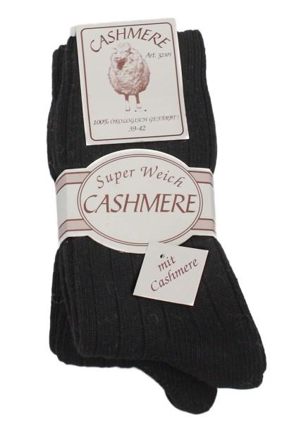 """2 Pairs Cashmere Socks """"Premium"""" Sheep Wool Unisex"""