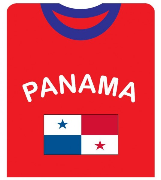 "Fan-Shirt ""Panama"" Unisex Football Worldcup T-Shirt Men"