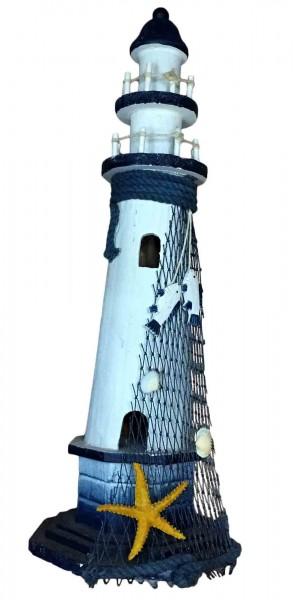 "Leuchtturm ""M"" Dekoration Maritim Shabby Chic Landhausstil"