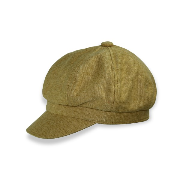 Aktionssortiment: 20 Stück Herbstlicher Damenhut Baskenmütze Barett Meliert