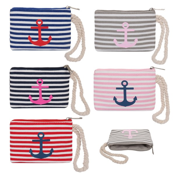 "Sale: 10 Purses ""Anchor"" Striped"