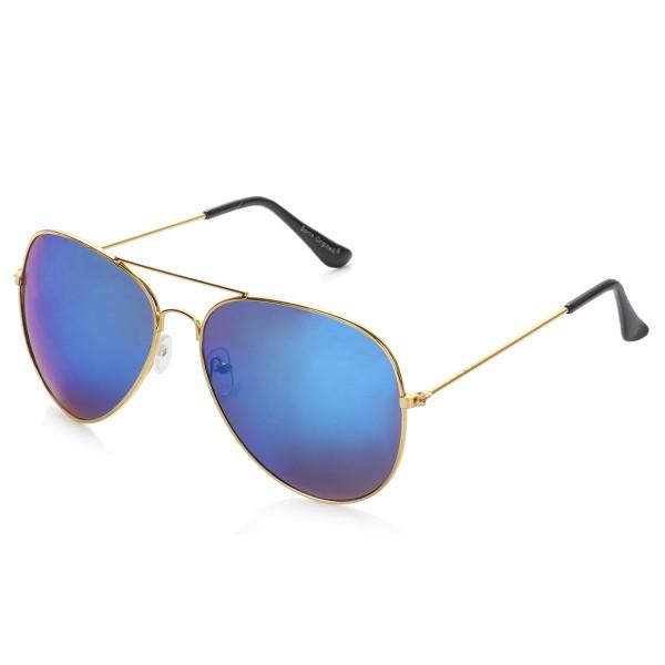 """Sonnenbrille """"Pilot"""" Partybrille Spaß Verspiegelt Brille Fasching"""
