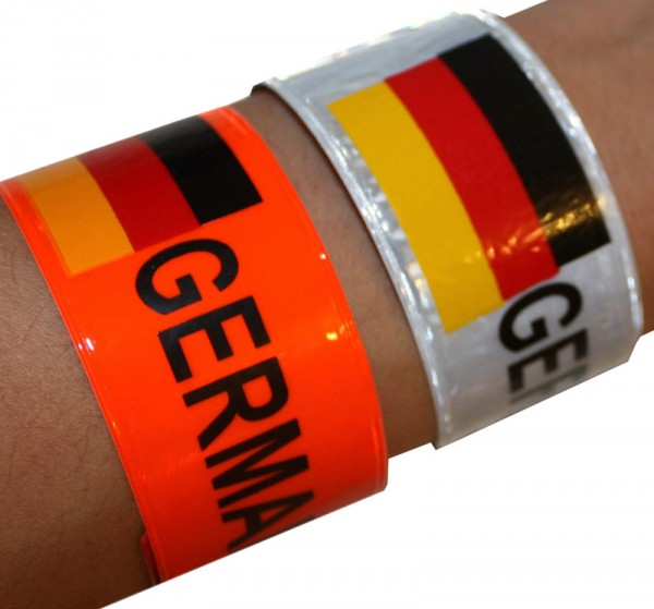 "12 Pieces ""Roll-Bangle"" Germany Soccer Worldcup Fan"
