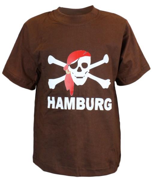 "T-Shirt ""Pirat"" Hamburg Baumwolle"