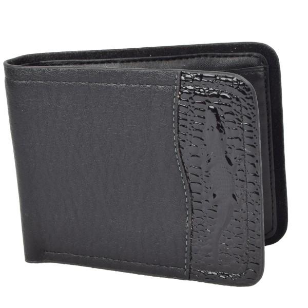 """Wallet """"Duo"""" Gents Purse Brown Black"""