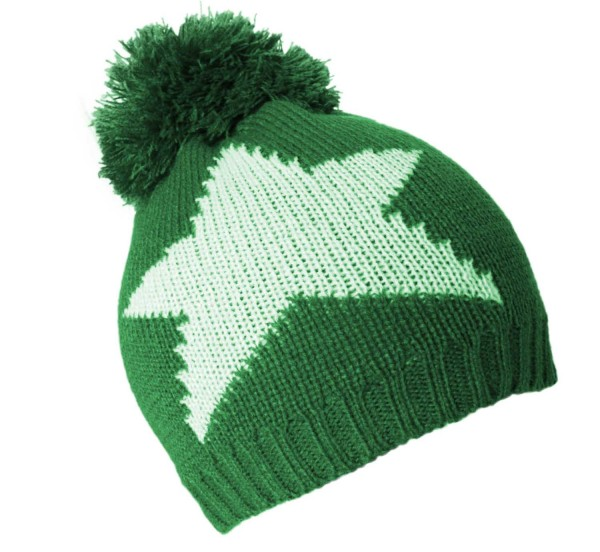 "Kids Bobble Hat ""Stars"" Winter Hat Uni"
