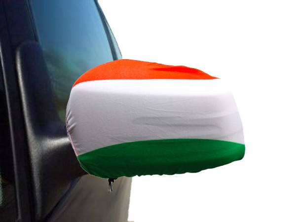 "Auto Außenspiegel Fahne Set ""Ungarn"" Hungary Bikini Flagge EM WM"