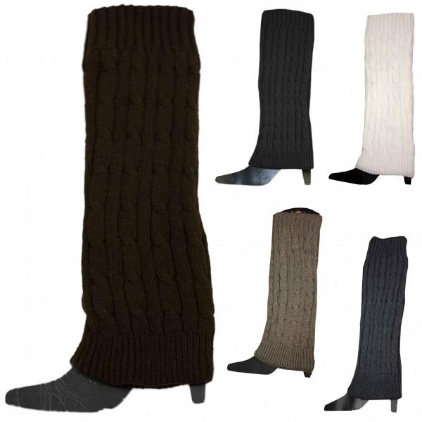 Assortment: 50 pairs Cuff Legwarmer Uni Color Acrylic Wool Warm Winter