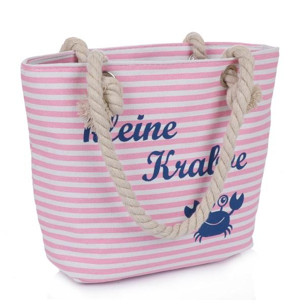 """XS Shopper """"kleine Krabbe"""" Tasche Maritim Streifen"""