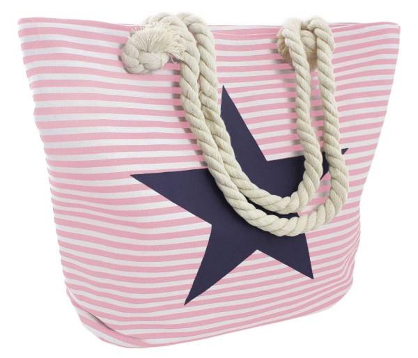 """Strandtasche Stern """"Lena"""" Beachbag Tasche Bag Streifen Maritim"""