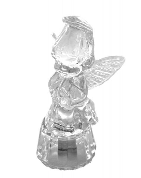 """Glasfigur Deko Wohnen Engel """"Mädchen"""" Weihnachten"""