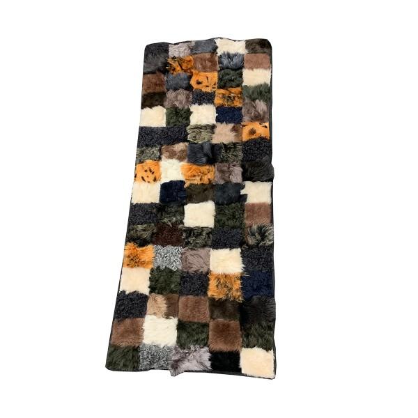 Lambfur Decoration Carpet Real Fur Natural