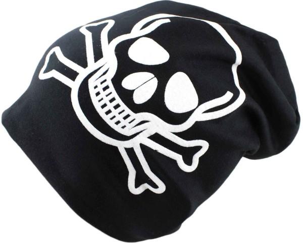 """Beanie Slouch """"Skull"""" Unisex Skullhead"""