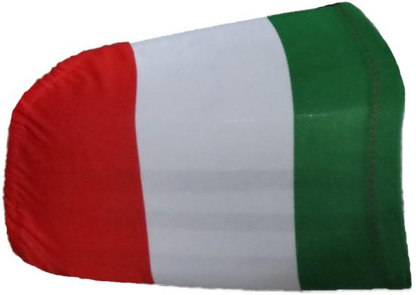 "Auto Außenspiegel Fahne Set ""Italien"" Italy Italia Bikini Flagge EM WM"