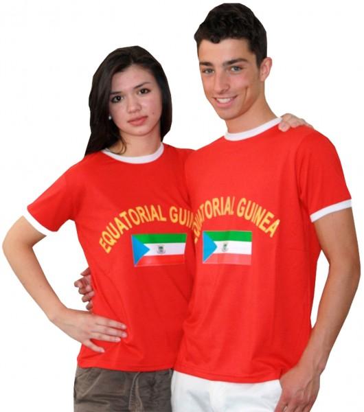 """Fan-Shirt """"Equatorial Guinea"""" Unisex Football Worldcup T-Shirt Men"""