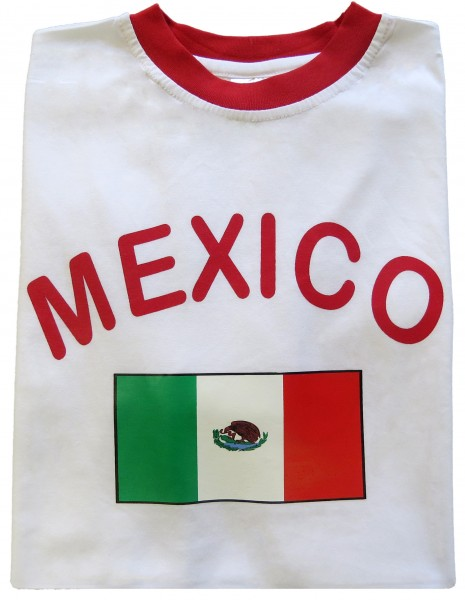 "Fan-Shirt ""Mexico"" Unisex Football Worldcup T-Shirt Men"