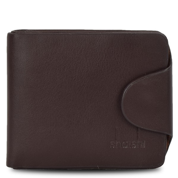 """Assortment: 10 pieces Wallet """"Darling"""" Gents Purse Brown Black Synthetic Leather"""
